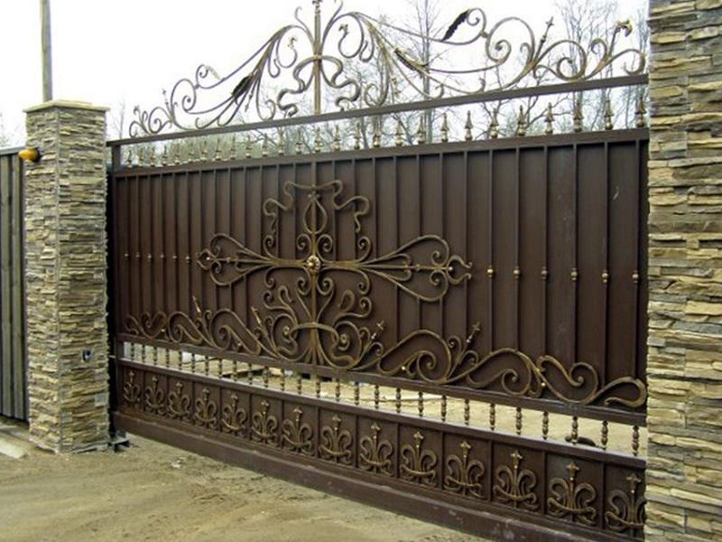 Откатные ворота ОВ-934