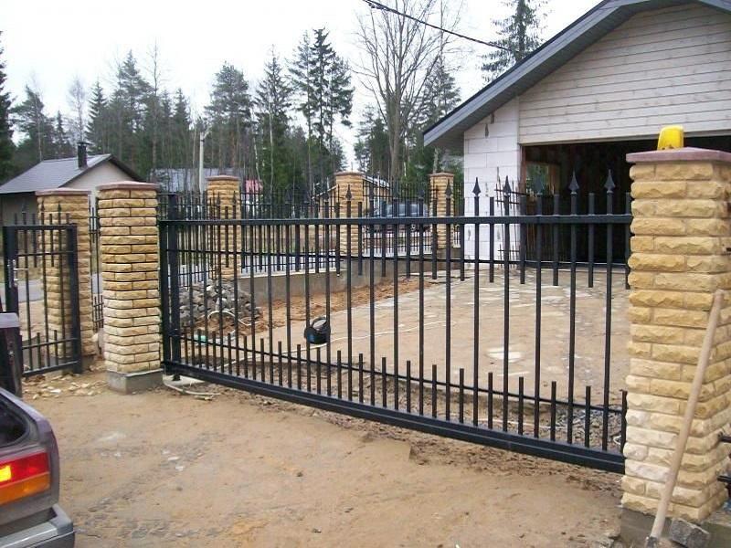 Откатные ворота ОВ-935
