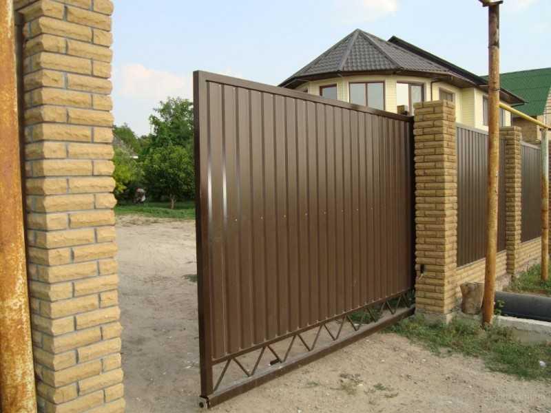 Откатные ворота ОВ-936