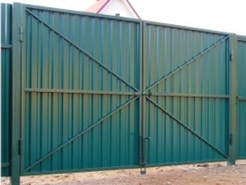 Распашные ворота РВ-637 (3*2 м)